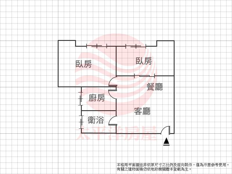雙敦邊間高樓兩房,台北市松山區八德路三段