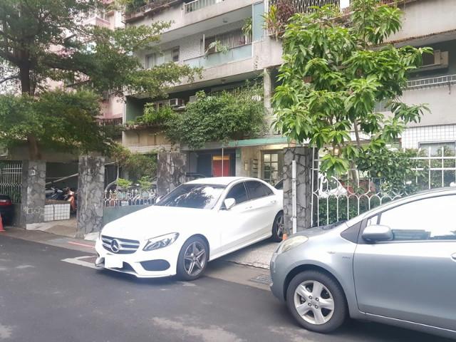 福蘭大廈面寬庭園一樓住辦II,台北市大安區新生南路